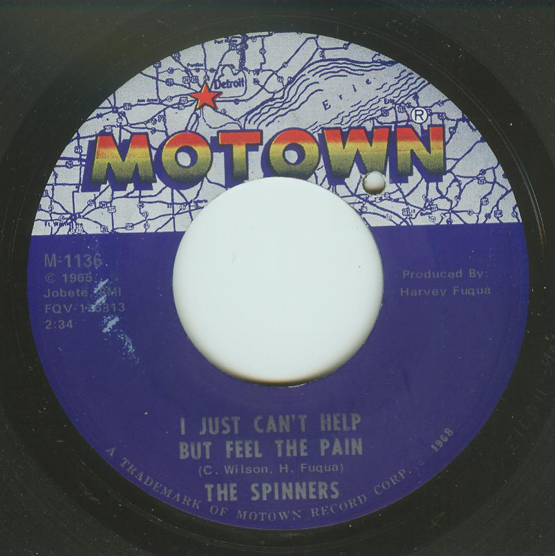 Spinners - I Just Can't Help But Feel The Pain / Bad, Bad Weather