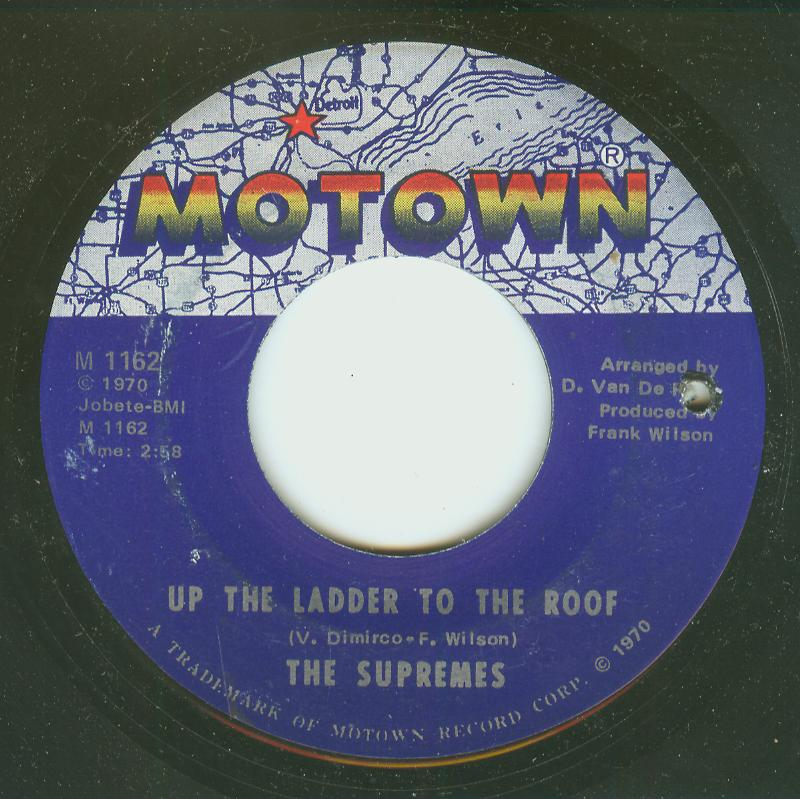 Supremes - Up The Ladder To The Roof / Bill, When Are You Coming Back