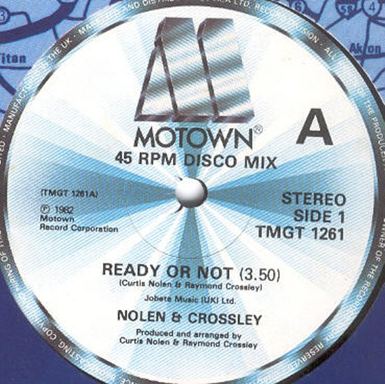 Nolen & Crossley - Ready Or Not / A Place In My Heart