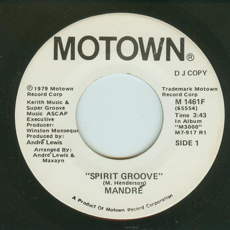 Mandré - Spirit Groove / Spirit Groove