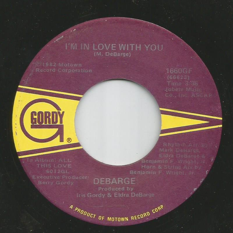 Debarge - I'm In Love With You / All This Love