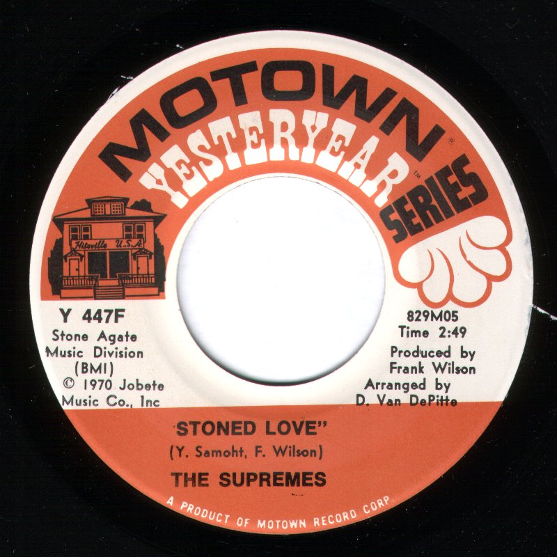 Supremes - Stoned Love - Extended Intro Version / Everybody's Got The Right To Love