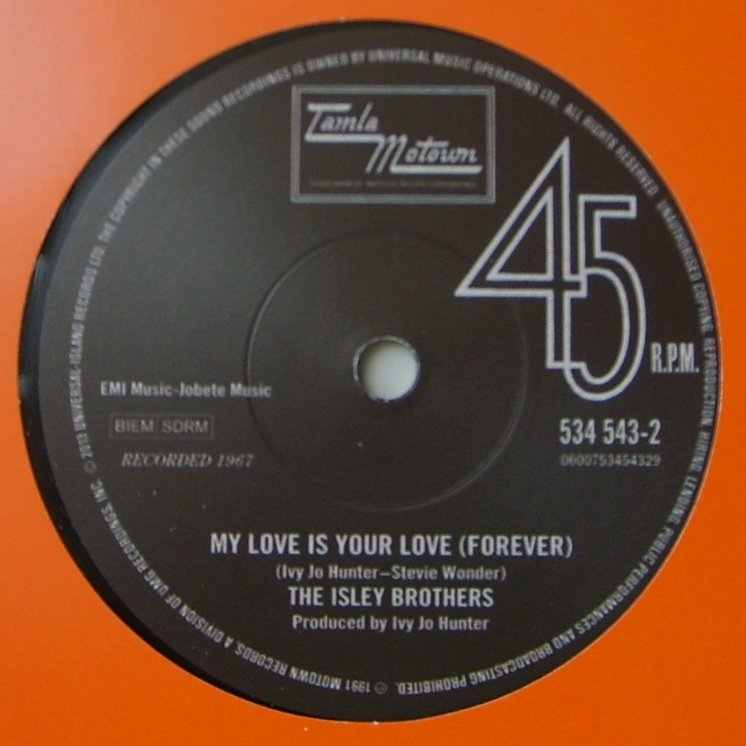 Isley Brothers / Chris Clark - My Love Is Your Love / Something's Wrong