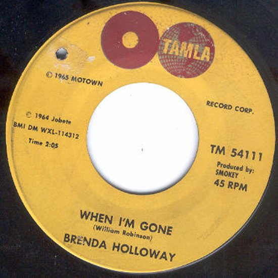 Brenda Holloway - When I'm Gone / I've Been Good To You