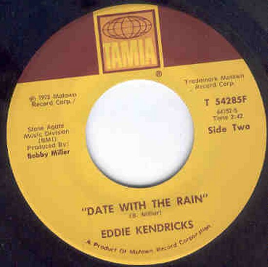 Eddie Kendricks - Date With The Rain / Born Again
