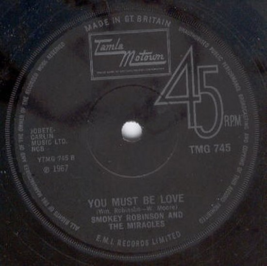 Smokey Robinson & Miracles - The Tears Of A Clown / You Must Be Love